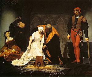 Esecuzione Lady Jane Grey