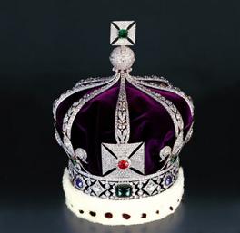 Gioielli della Corona inglese nella Torre di Londra